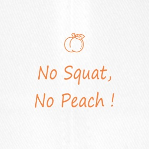 No squat, no peach - Casquette Flexfit