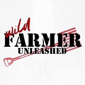 Farmer / Landwirt / Bauer: Wild Farmer Unleashed - Flexfit Baseballkappe