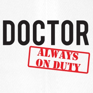 Doktor / Arzt: Doctor - Always On Duty - Flexfit Baseballkappe