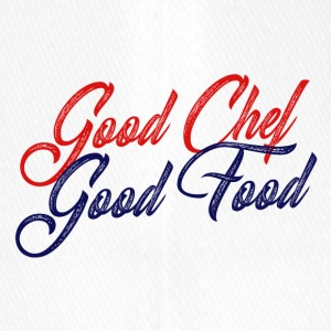 Koch / Chefkoch: Good Chef - Good Food - Flexfit Baseballkappe