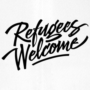 refugees welcome - Flexfit Baseball Cap