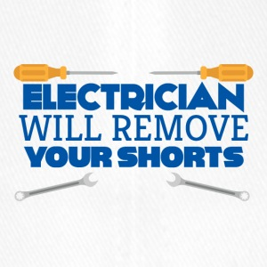 Electrician: Electrician will remove your shorts. - Flexfit Baseball Cap