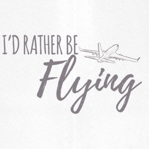 Pilot: I'd rather be flying. - Flexfit Baseball Cap