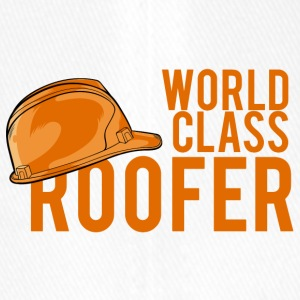 Pokryvači: World Class Roofer - Cappello con visiera Flexfit