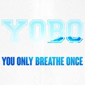 Swimming / Swimmer: YOBO - You Only Breathe Once - Flexfit Baseball Cap