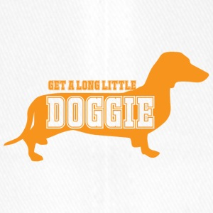 Dachshund / Dachshund: Get a long little doggie - Flexfit Baseball Cap