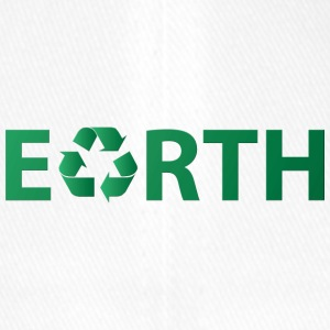 Earth Day: Earth - Recycling - Flexfit Baseball Cap