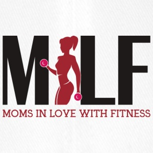 Milf : Moms in love with fitness - Flexfit Baseballkappe