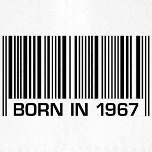 born in 1967 50th birthday 50th birthday barcode - Flexfit Baseball Cap
