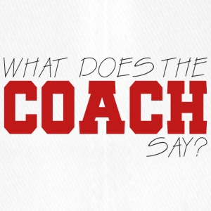 Coach / Trainer: What Does The Coach Say? - Flexfit Baseballkappe