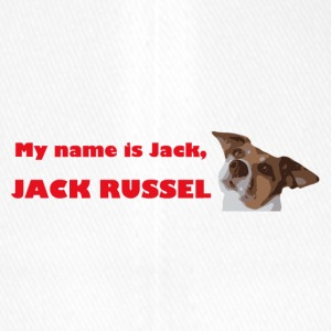 My name is jack2 red - Flexfit Baseball Cap
