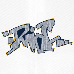 riot graffiti yellow gray - Flexfit Baseball Cap