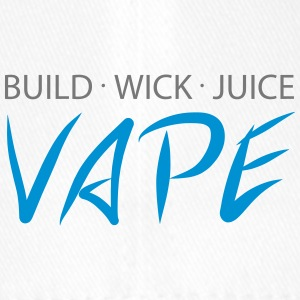 Build Wick Juice - Vape - Flexfit Baseballkappe