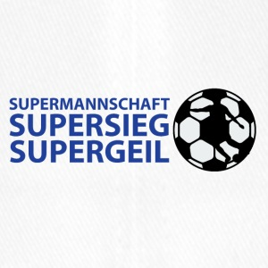 Supermannschaft, Supersieg, Supergeil - Flexfit Baseballkappe