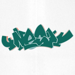 rue cool graffiti art - Casquette Flexfit