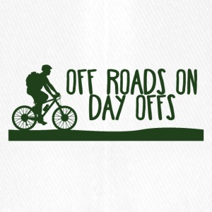 Fahrrad: Off Roads On - Day Offs. - Flexfit Baseballkappe