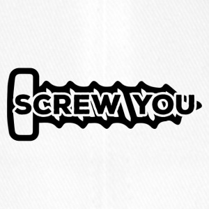 Mechaniker: Screw You - Flexfit Baseballkappe