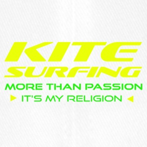 KITESURFING - MORE THAN PASSION - ITS MY RELIGION - Flexfit Baseballkappe