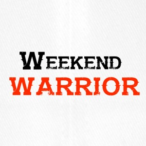 Shirt Weekend Warrior Weekend Party - Flexfit baseballcap