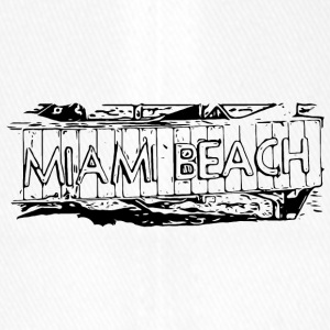 Miami Beach black - Flexfit Baseball Cap