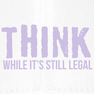 Think while it's style legal - Flexfit Baseballkappe