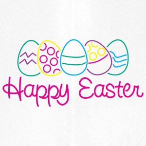 Easter Happy Easter Eggs - Flexfit Baseball Cap