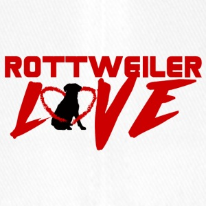Dog / Rottweiler: Rottweiler Love - Flexfit Baseball Cap