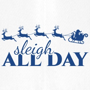 Christmas: Sleigh All Day - Flexfit Baseball Cap