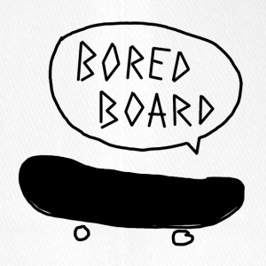 Bored Board Skateboard - Flexfit baseballcap