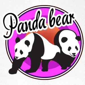 Panda Circle - Flexfit Baseball Cap