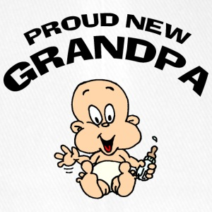 Proud New Grandpa CUSTOMIZE ADD DATE YEAR - Flexfit Baseball Cap