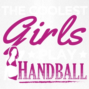 COOLEST GIRLS PLAY HANDBALL - Flexfit Baseball Cap