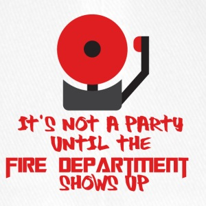 Fire Department: It's not a party until the fire - Flexfit Baseball Cap