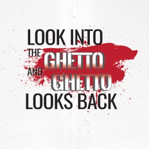 Look into the Ghetto and Ghetto looks back! - Flexfit Baseball Cap
