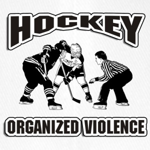 Hockey Organized Violence - Flexfit Baseball Cap