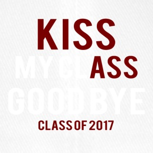 High School / laurea: Kiss Ass - Kiss my Class - Cappello con visiera Flexfit