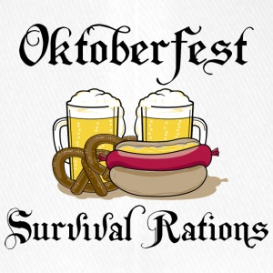Oktoberfest Survival Rations - Flexfit basebollkeps
