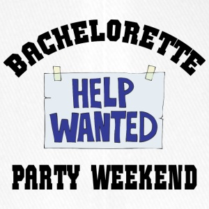 Bachelorette Party Help Wanted - Flexfit Baseball Cap