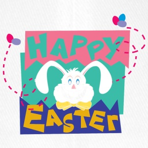 Easter Happy Easter Bunny - Flexfit Baseball Cap