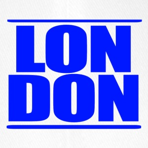 LON DON Logo Blue - Flexfit baseballcap