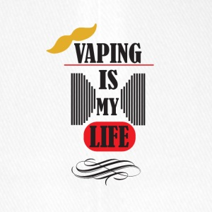 vaping is my life 3 - Flexfit Baseballkappe