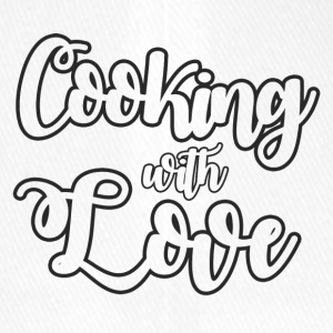 Koch / Chefkoch: Cooking With Love - Flexfit Baseballkappe