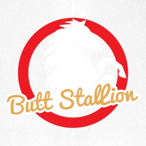 Horse / Farmhouse: Butt Stallion - Flexfit Baseball Cap