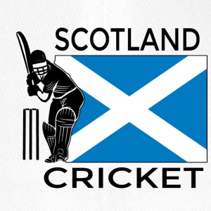Cricket Scotland - Cappello con visiera Flexfit