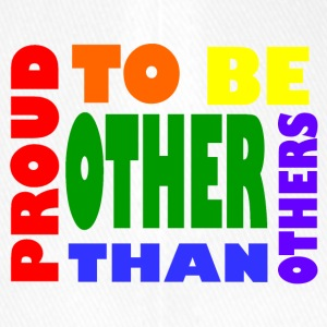 proud to be other than others gay - Flexfit Baseball Cap