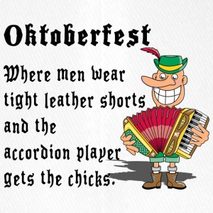 Oktoberfest Accordion Player - Flexfit Baseball Cap