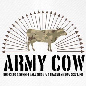 Army cow - Flexfit Baseball Cap