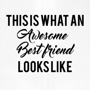 Beste Freunde: This is what an awesome Best Friend - Flexfit Baseballkappe