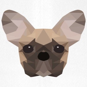 French Bulldog Low Poly - Flexfit Baseball Cap
