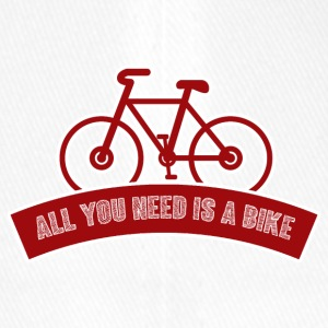 Fahrrad: All you need is a bike - Flexfit Baseballkappe